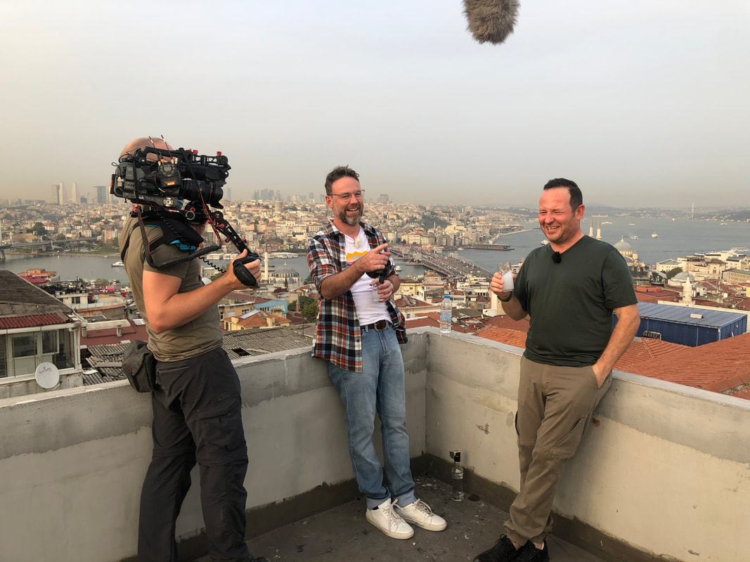 istanbul filming panorama view
